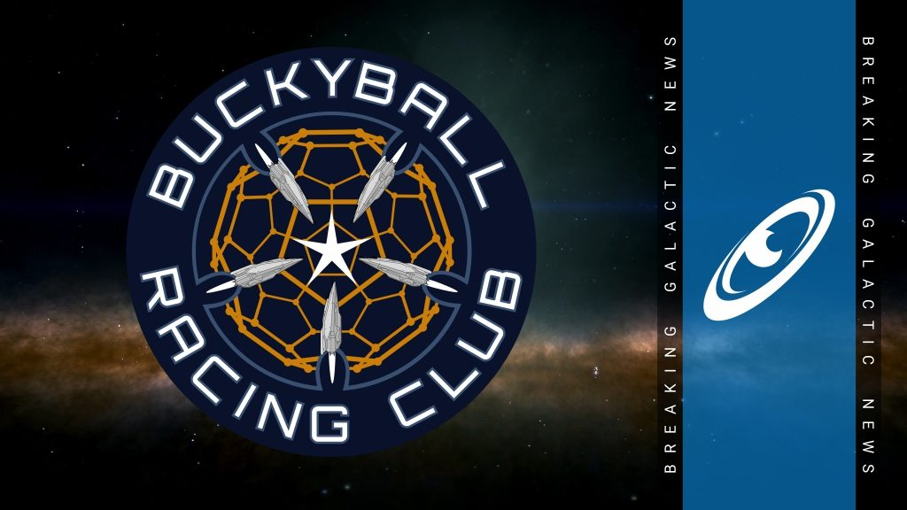 """New Buckyball Race """"Poisson d'avril"""" On Now Until 8th April 3304"""