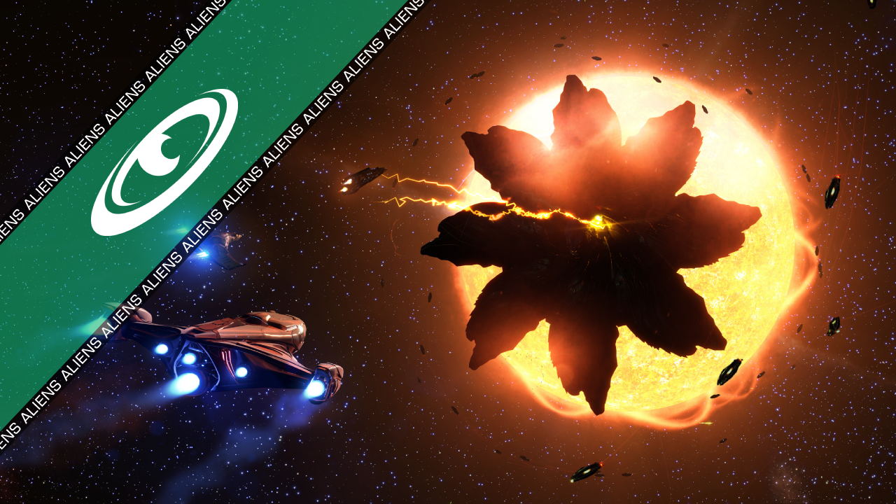 Thargoid mothership spotted in Sol
