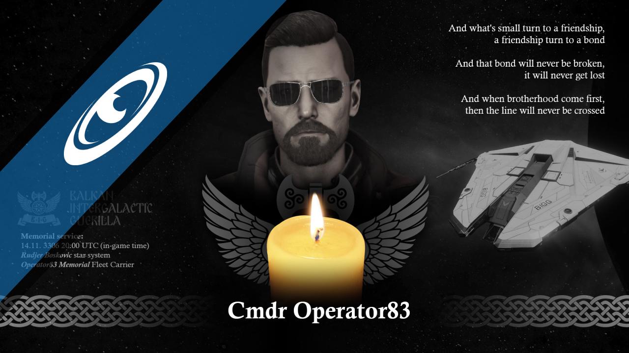 Memorial for Operator83